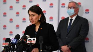 NSW cases Gladys Berejiklian July 27 AAP