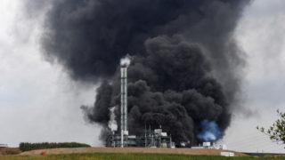 Chempark explosion Leverkusen