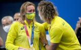 Ariarne Titmus got emotional after winning a second gold medal.