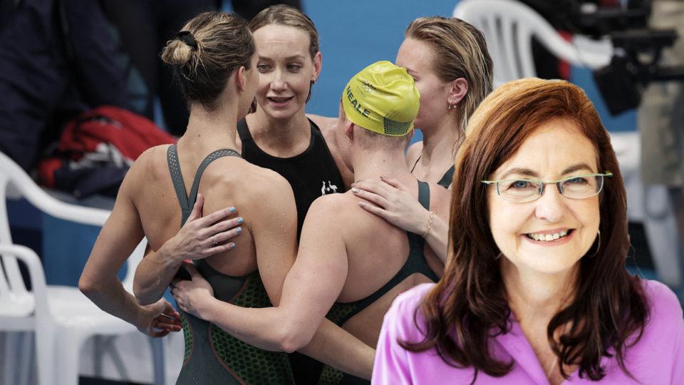 Female Olympic swimmers Australia