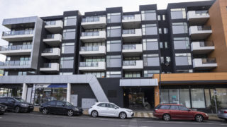 general view of the Ariele Apartments in Maribyrnong, Melbourne