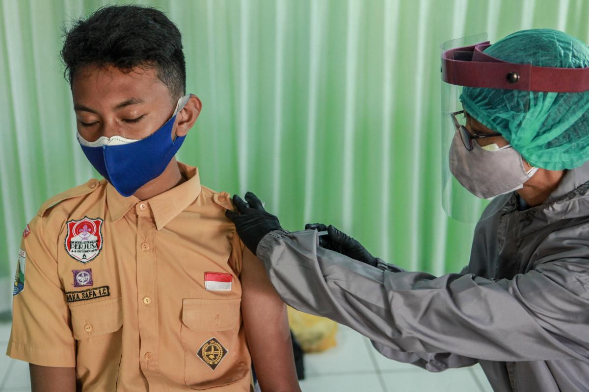 Vaccination in children