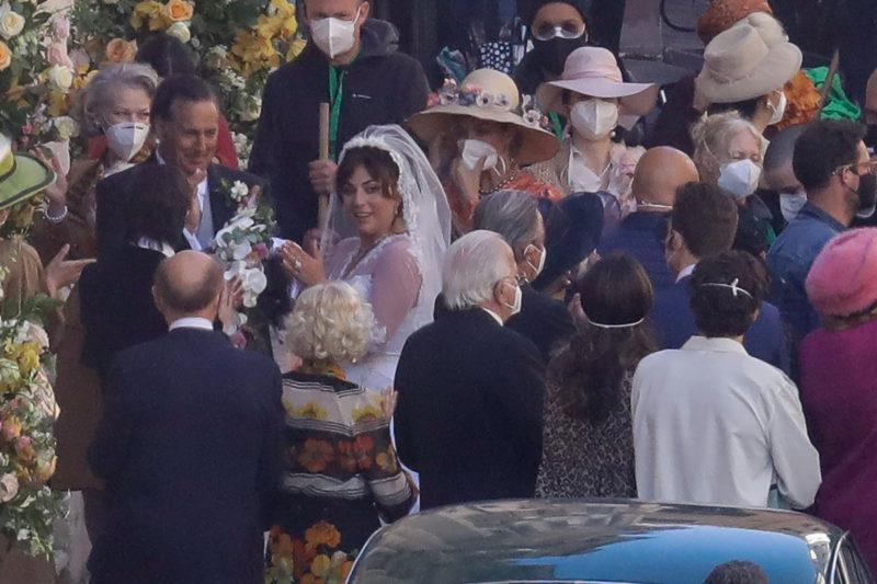 House of Gucci wedding scene