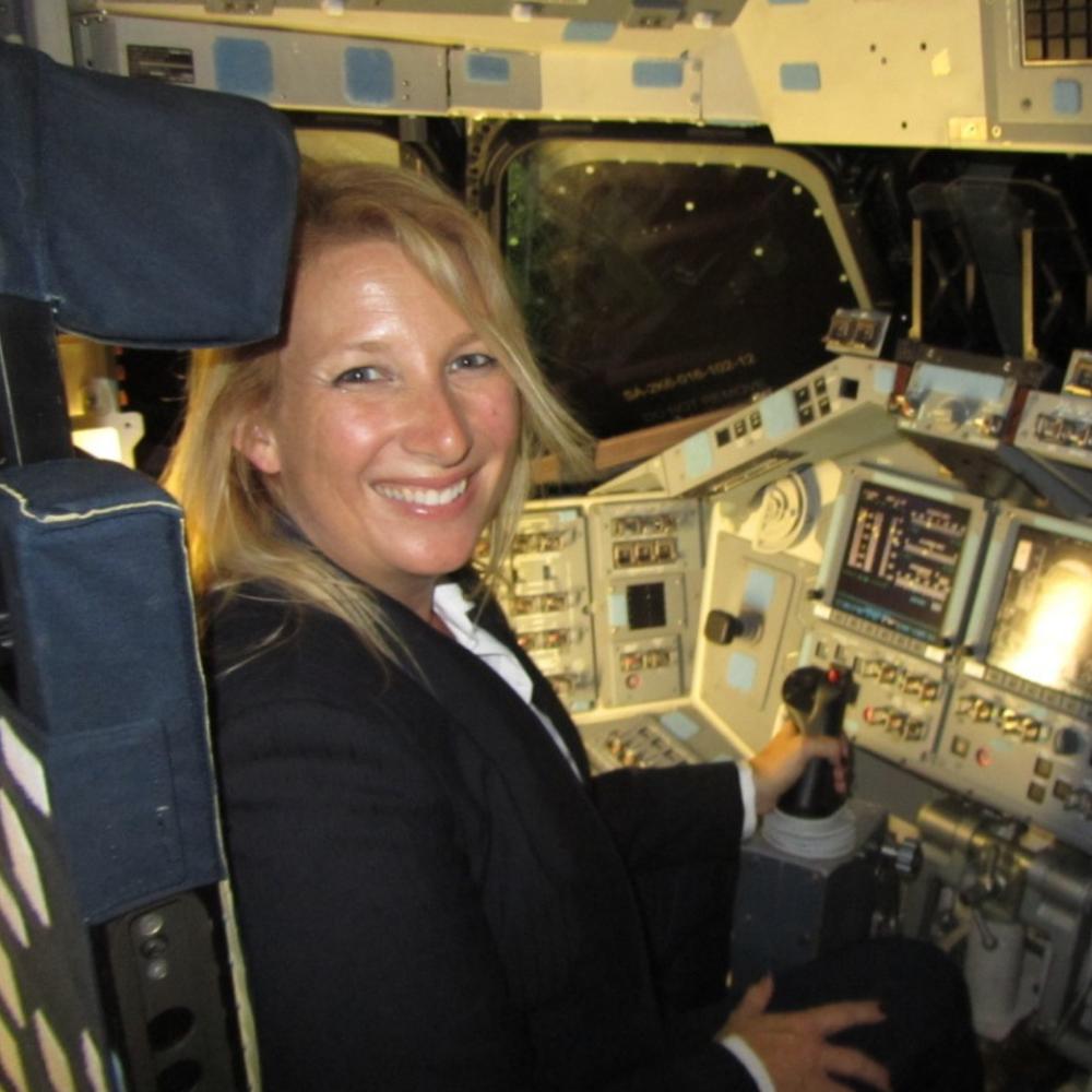 Astronaut Kim