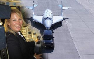 First woman astronaut Kim Ellis Hayes