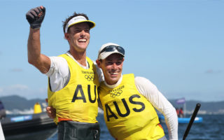 Belcher and Ryan won gold for Australia.