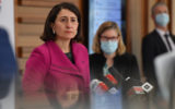 NSW Premier Gladys Berejiklian and Chief Health Officer Dr Kerry Chant at a press conference to provide a COVID-19 update in Sydney