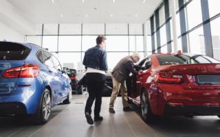car loan car showroom