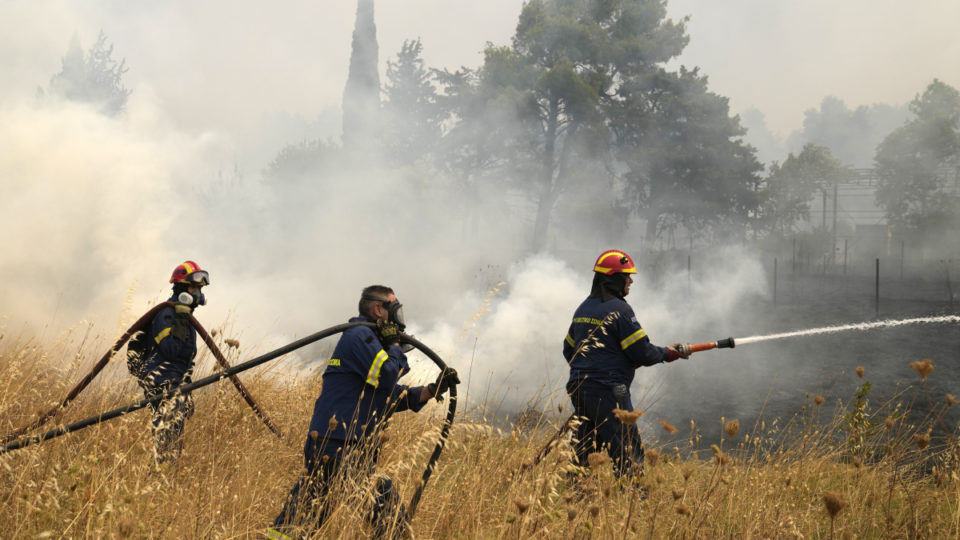 Italy Greece wildfires