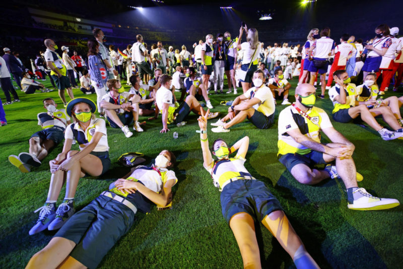 closing ceremony for australian athletes
