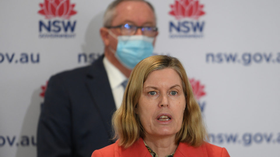NSW lockdown Kerry Chant NSW Presser August 10