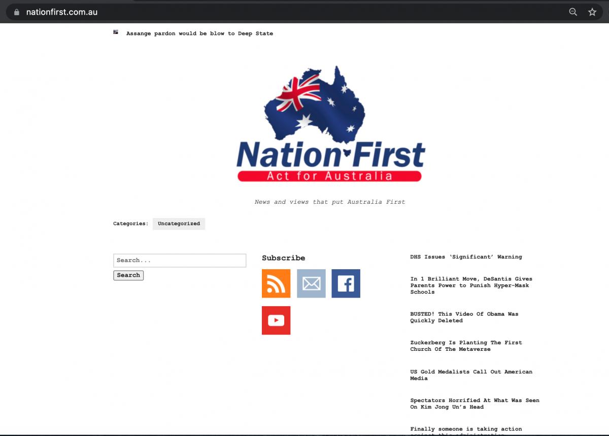 George Christensen launches website