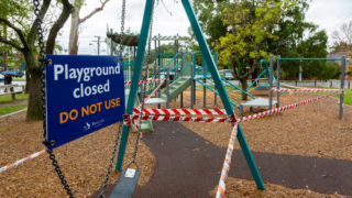 melbourne playground covid