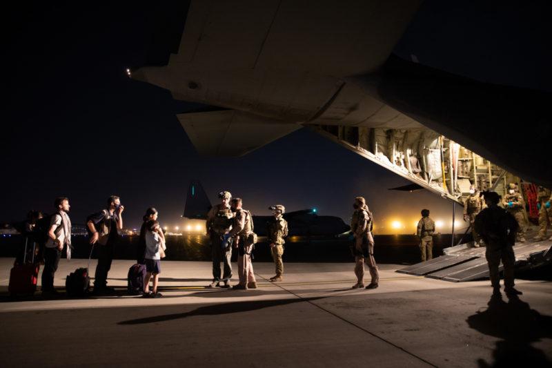 Australia Afghanistan evacuation