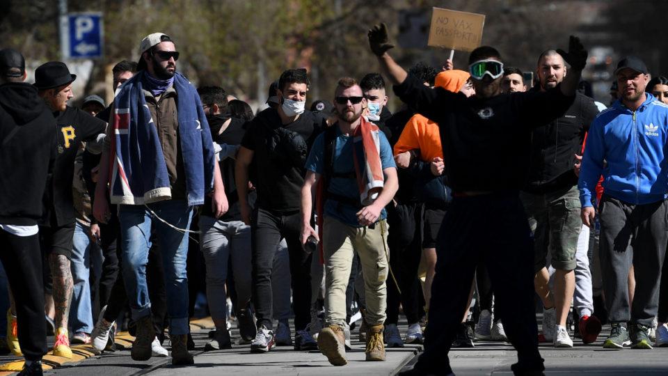 Hundreds of anti-lockdown protesters