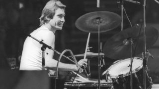 Rolling Stones drummer Charlie Watts.