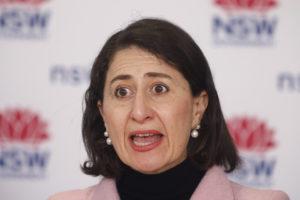 New South Wales Gladys berejiklian august 25