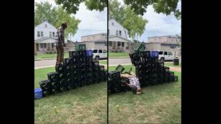 The milk crate challenge,