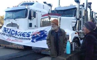 truckies strike