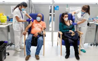 virus vaccine rates