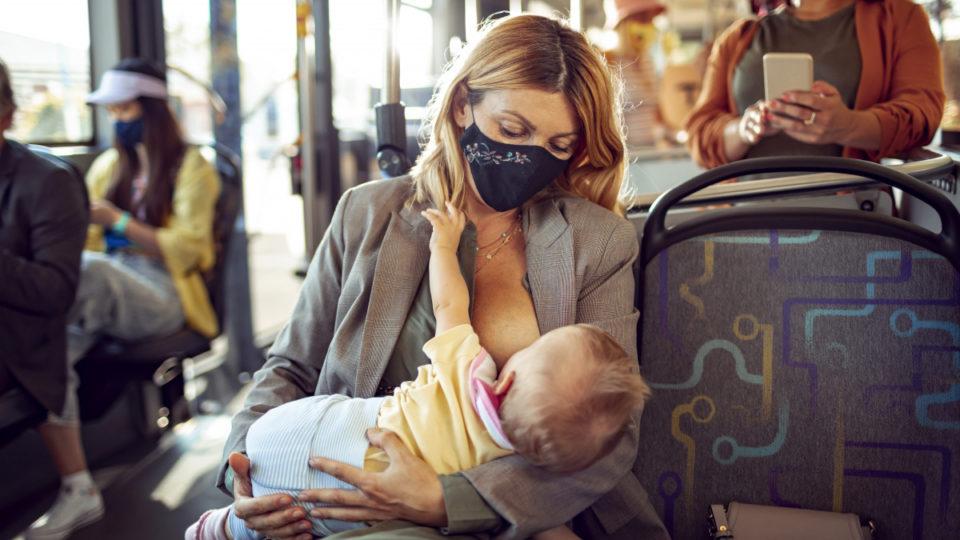 COVID-19 breast milk