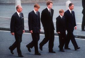 princess diana funeral harry william