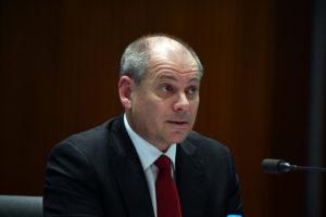 banks westpac boss peter king