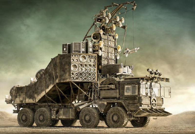 Mad Max Fury Road car auction