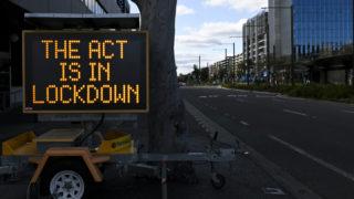 act lockdown