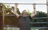 muscle older man exercise
