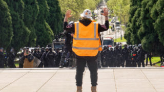 melbourne protesters
