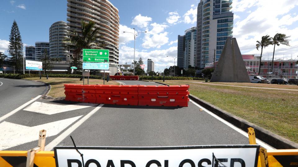 Queensland border nsw