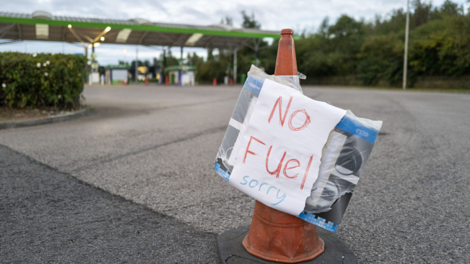 britain fuel shortages