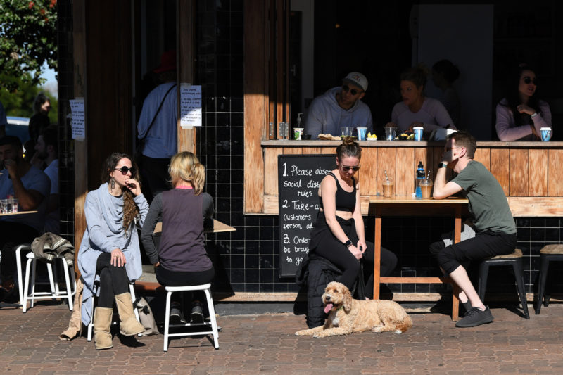 Cafes will reopen in NSW in October.