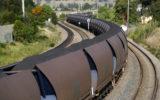 coal train truck accident