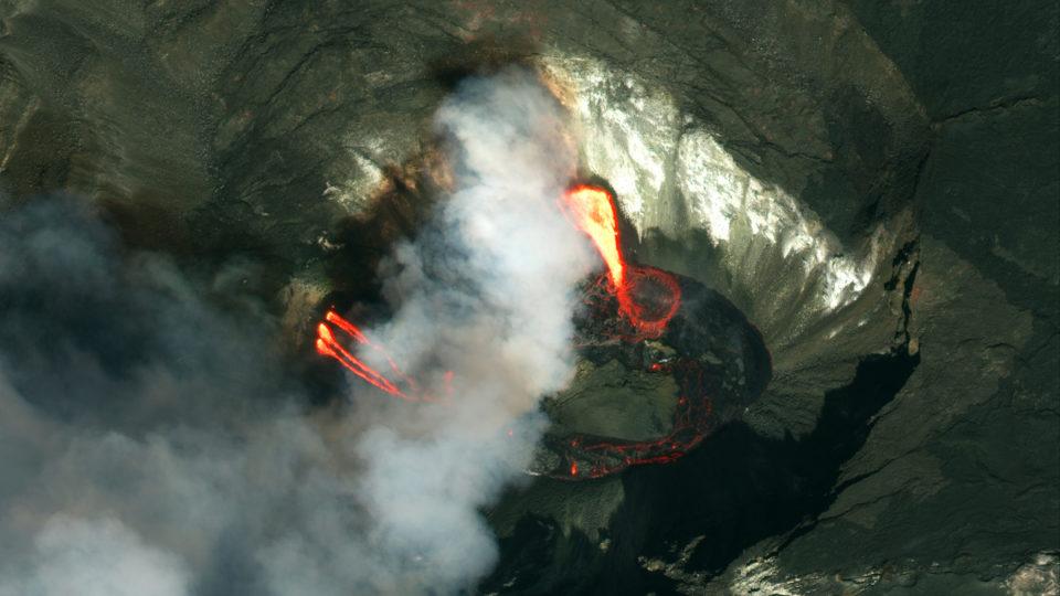Kilauea erupt