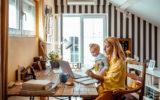 energy providers mum working from home