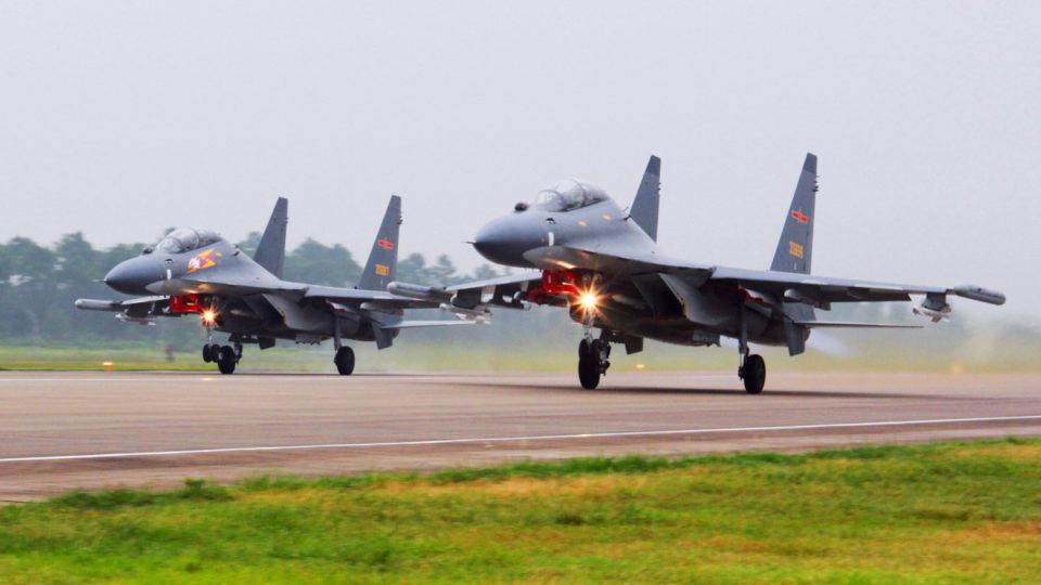 china taiwan planes