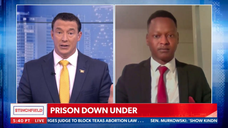 Nelly Yoa appeared on Newsmax to talk about Australia's lockdowns.