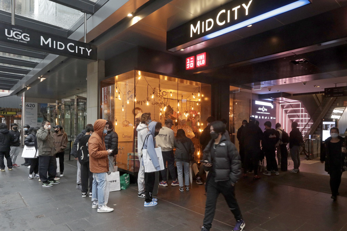 Shops in Sydney are reopening