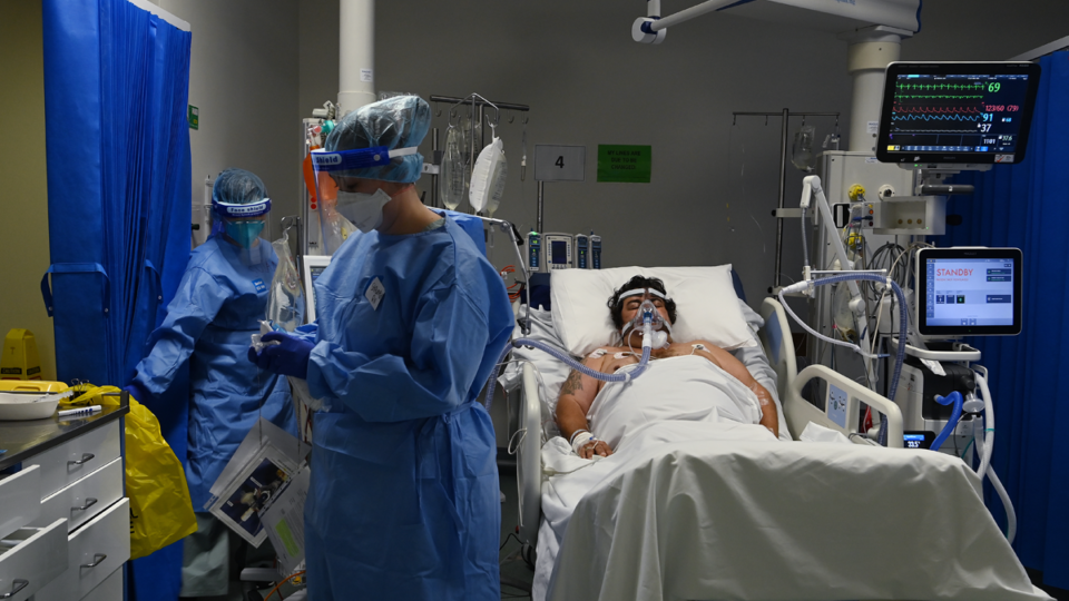 Australia has fewer staffed ICU beds than at the start of the pandemic.