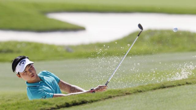 Quartet sets golfing record in fastest hole challenge